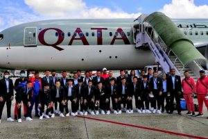 साफ च्याम्पियनसीपको लागि नेपाली राष्ट्रिय पुरुष फुटबल टिम कतार प्रस्थान