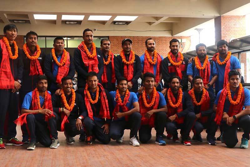 नेपाली राष्ट्रिय क्रिकेट टोली स्वदेश फिर्ता