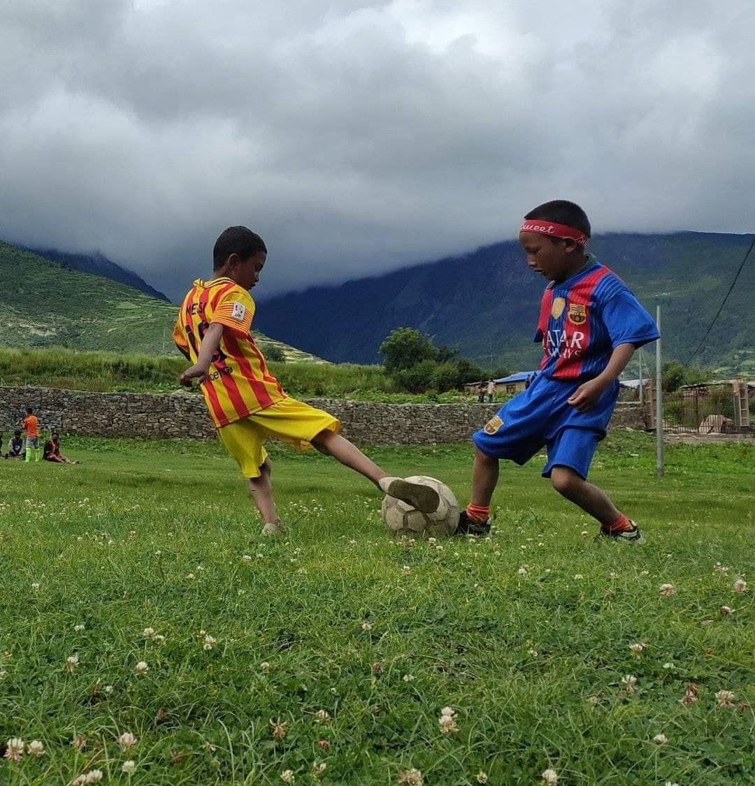 फुटबलप्रति हुम्लाका बालिकामा बढी रुचि