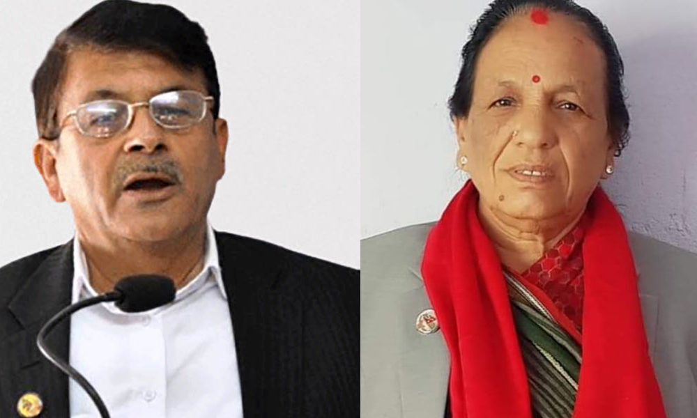 सोमप्रसाद पाण्डे र शारदादेवी भट्टले नेकपा एकीकृत समाजवादी रोज्न पाउने